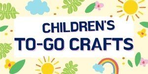 Children's to-go crafts